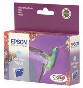 Epson T0805 světlá azurová - Cartridge