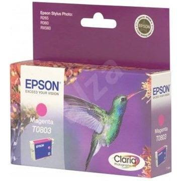 Epson T0803 purpurová - Cartridge