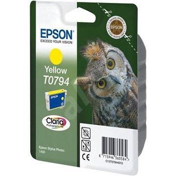 Epson T0794 žlutá - Cartridge