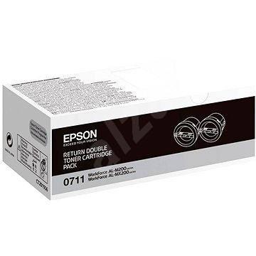 Epson S050711 Dual Pack černý 2ks - Toner