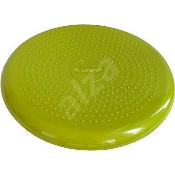 Lifefit Balance cushion 33cm, světle zelený - Balanční polštářek