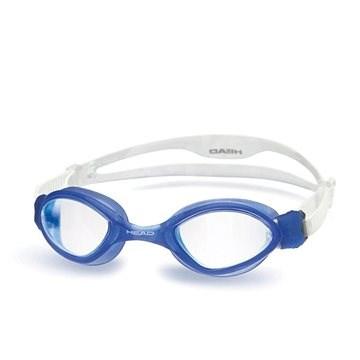 Head Tiger, modrá, čirý zorník - Plavecké brýle