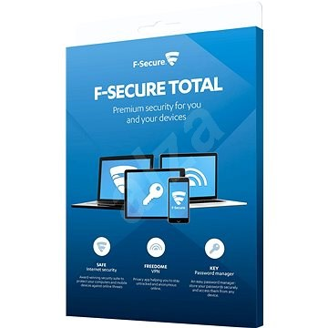 F-Secure TOTAL FAMILY DR pro 5 zařízení na 1 rok + Data Recovery pro 1 zařízení na 1 rok (elektronic - Antivirus
