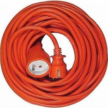 PremiumCord prodlužovací 20m 230V, oranžový - Napájecí kabel