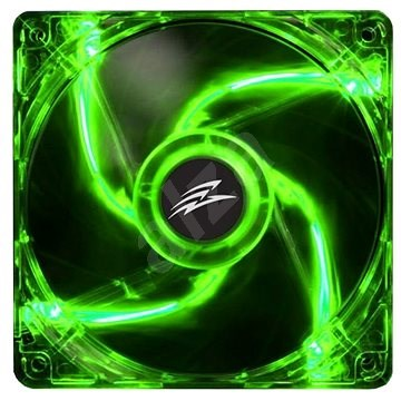 EVOLVEO 14L1GR LED 140mm zelený - Ventilátor do PC