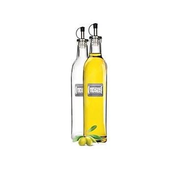 BANQUET Skleněná láhev 2ks na olej a ocet CULINARIA 500ml A00959 - Menážka