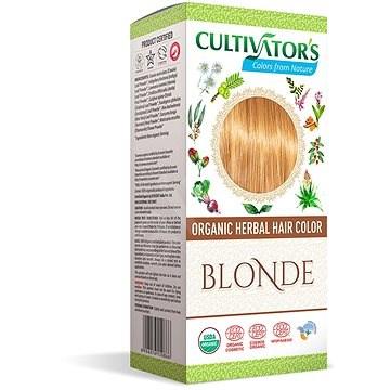 CULTIVATOR Natural 3 Blond 4× 25 g - Přírodní barva na vlasy