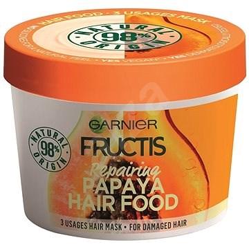 GARNIER Fructis Papaya Hair Food Mask 390 ml - Maska na vlasy