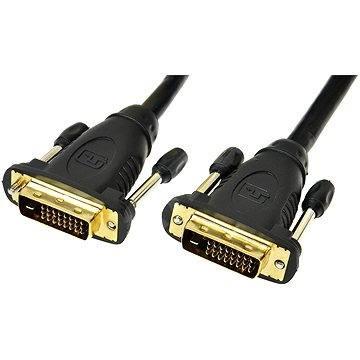 PremiumCord propojovací DVI-D 2m - Video kabel