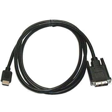 ROLINE DVI - HDMI propojovací, stíněný, 5m - Video kabel