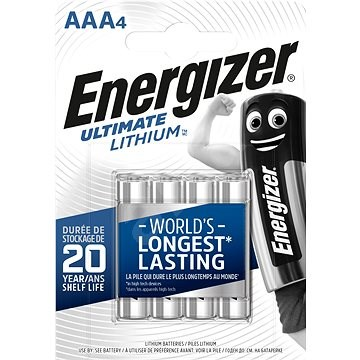 Energizer Ultimate Lithium AAA/4 - Jednorázová baterie