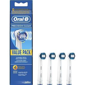 Oral-B náhradní hlavice Precision clean 4ks - Náhradní hlavice