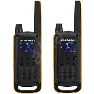 Motorola TLKR T82 Extreme, žlutá/černá - Vysílačka
