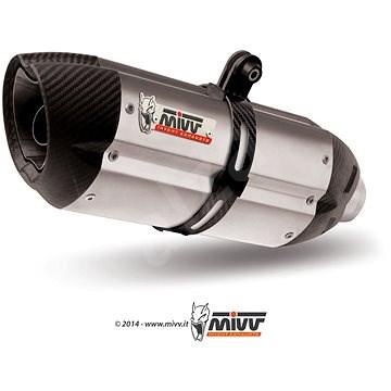 Mivv Suono Stainless Steel / Carbon Cap pro Kawasaki Z 750 (2007 > 2014) - Koncovka výfuku