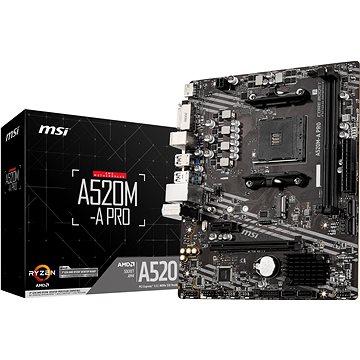 MSI A520M-A PRO (A520M-A PRO)