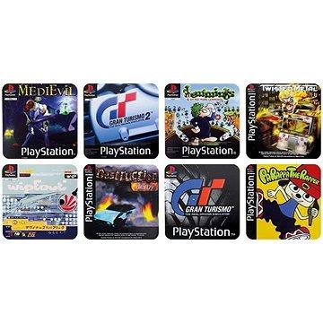 PlayStation - herní podtácky (5055964715403)