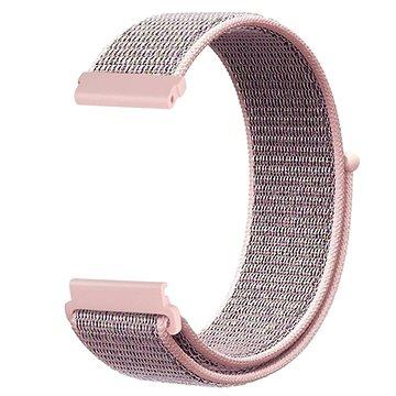 Eternico Nylon Band růžový pro Garmin 20 (AET-GRNLN25P-V3)