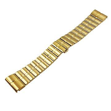 Eternico Garmin QuickFit 26 Stainless Steel Band Steel Plating zlatý (AET-GRQRSSL25G-26)