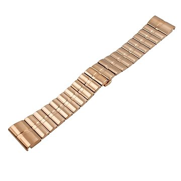 Eternico Garmin QuickFit 26 Stainless Steel Band Steel Plating růžový zlatý (AET-GRQRSSL25RG-26)