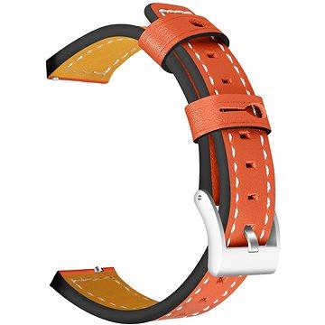 Eternico Genuine Leather Band hnědý pro Garmin 20 (AET-GRLEA25C-V3)