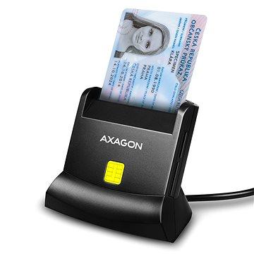 AXAGON CRE-SM2 Smart card & SD / microSD / SIM card (CRE-SM2)