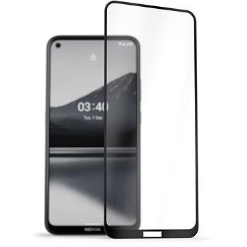 AlzaGuard 2.5D FullCover Glass Protector pro Nokia 3.4 černý (AGD-TGC0097)