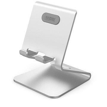 AhaStyle hlinikový stojan pro Mobilní telefony střibrný (ST02-Silver)