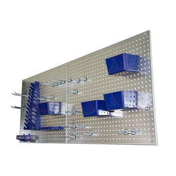 AHProfi kovová děrovaná stěna - 34 ks příslušenství (JJ001143)