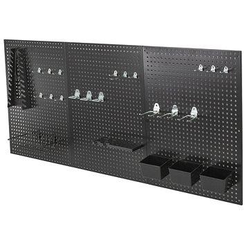 AHProfi kovová děrovaná stěna - 27 ks příslušenství (JJ001190)