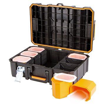 Tactix vodotěsný plastový kufr s organizérem (TC320360)