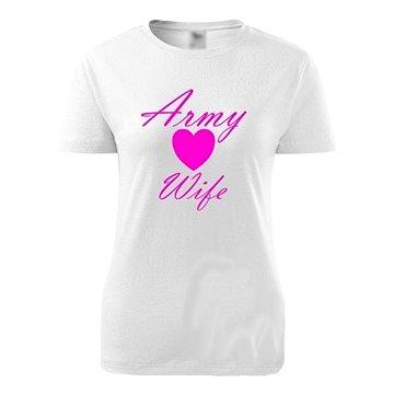 STRIKER Dámské army tričko Army Wife Velikost: L (10975/L)