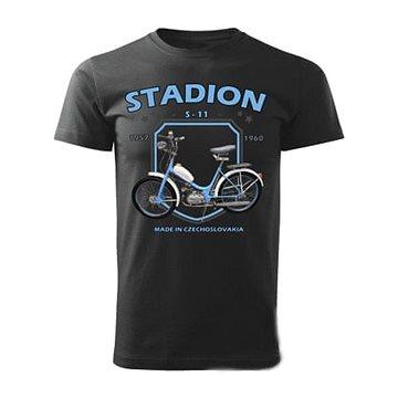 STRIKER Tričko STADION S-11 Barva: Černá, Velikost: S (10141/CER)