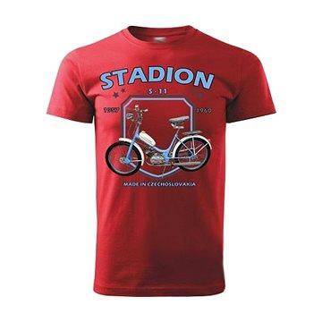 STRIKER Tričko STADION S-11 Barva: Červená, Velikost: S (10141/CER2)