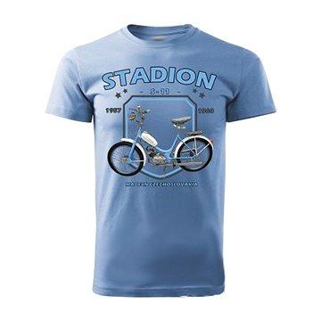 STRIKER Tričko STADION S-11 Barva: Modrá, Velikost: M (10141/MOD2)