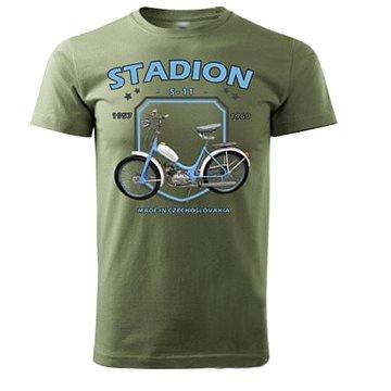 STRIKER Tričko STADION S-11 Barva: Olivová, Velikost: L (10141/L2)