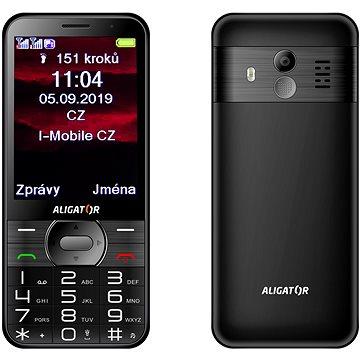 ALIGATOR A900 GPS Senior černý (A900B)