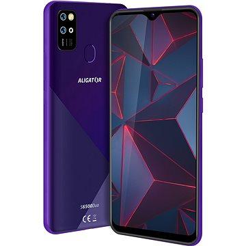 Aligator S6500 Duo Crystal 32GB fialová (AS6500PP)