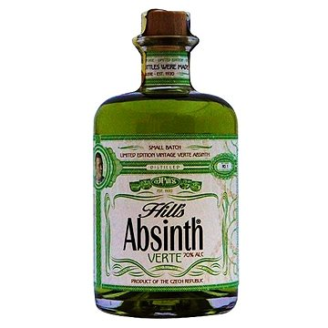 Hill´s Absinth Verte 0,5l 70% (8594018431267)