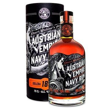 Albert Michler Distillery Austrian Empire Navy Rum 18Y 0,7l 40 % tuba (742832644648)