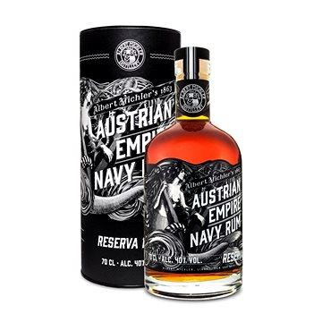Albert Michler Distillery Austrian Empire Navy Rum Reserva 1863 0,7l 40 % tuba (742832644655)