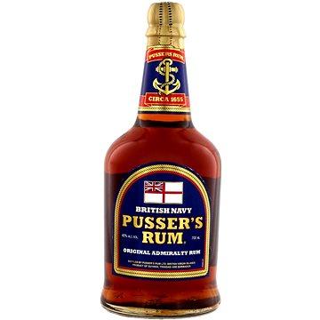 Pusser'S British Navy Rum 0,7l 40% (88320005400)