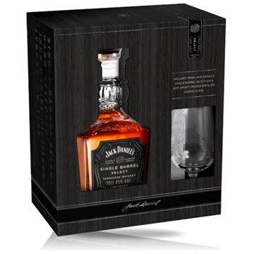 Jack Daniel's Single Barrel 0,7l 45% + 1x sklo (5099873210666)