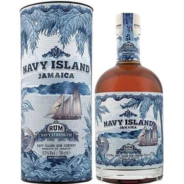 Navy Island Strenght Rum 0,7L 57% Tuba (8719326033549)