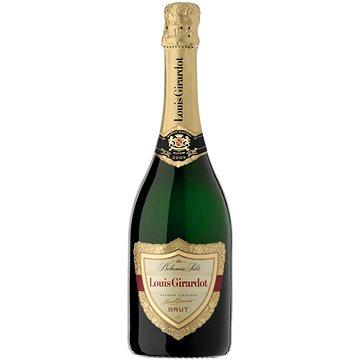 BOHEMIA SEKT Louis Girardot Brut Jakostní šumivé víno bílé 0,75l 12% (8594000940593)