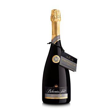 BOHEMIA SEKT Prestige 36 Brut Jakostní šumivé víno stanovené oblasti 2014 0,75l 12,5% (8594000940500)