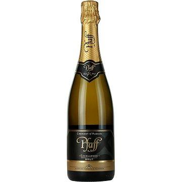 Crémant d'Alsace Excellence Brut Pfaff 0,75l 12% (3185130000124)