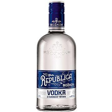 Božkov Republica Vodka z cukrové třtiny 0,7l 40% (8594005021778)