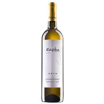 ČAPKA VINAŘSTVÍ Chardonnay pozdní sběr 2018 0,75l (7020292536103)