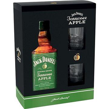 Jack Daniel's Apple 0,7l 35% + 2x sklo GB (8595682605138)