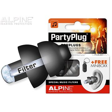 ALPINE PartyPlug Black (HN155680)